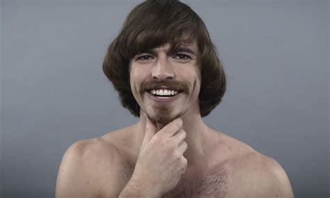 evolution  mens hairstyles   years