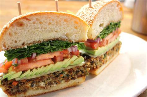 7 kitchen island veggie burger at honor bar