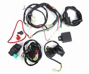 Electric Start Wiring Kit And Harness 12 Vac