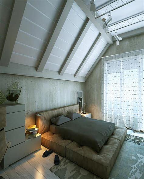 chambre sous pente de toit finest grande hauteur de cette chambre amnage dans les