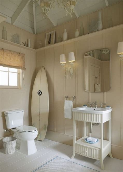 beachy bathrooms ideas 16 beachy surfboard decorating ideas