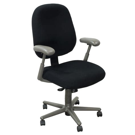 herman miller ergon used high back task chair black