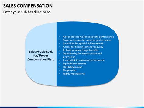 sales compensation powerpoint template sketchbubble