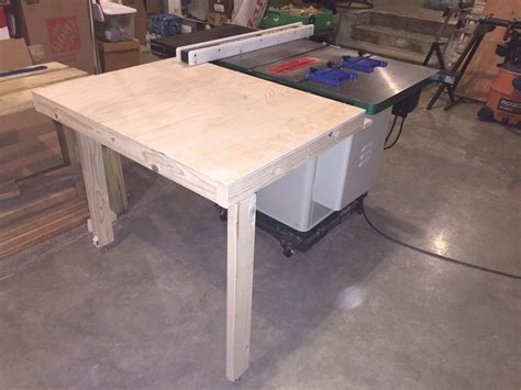 collapsible  feed table  table  grizzly