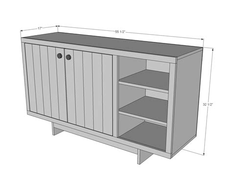 Standard Sideboard Height by Dining Room Sideboard Dimensions