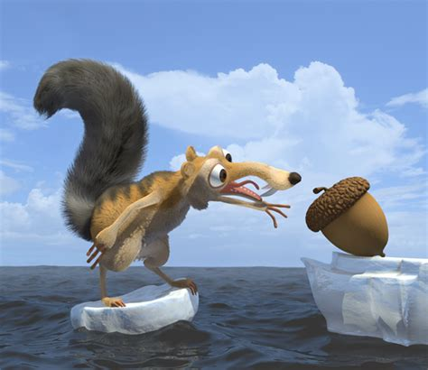 characters animated movies ice age scrat cartoon squirrel