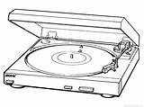 D707 Sony Ps Drawing Turntable Turntables Getdrawings Manual Belt Drive Downloads sketch template