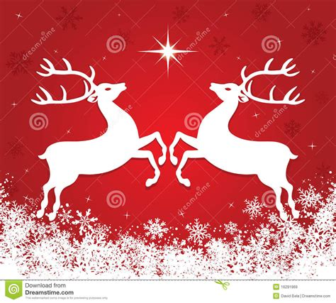 christmas reindeer royalty  stock images image