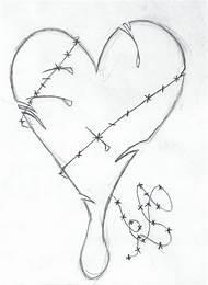 Easy Pencil Drawings Love