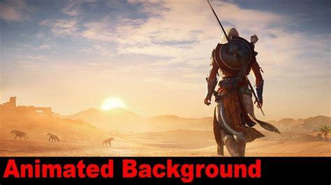Assassin S Creed Animated Wallpaper - assassin s creed origins animated wallpaper 06