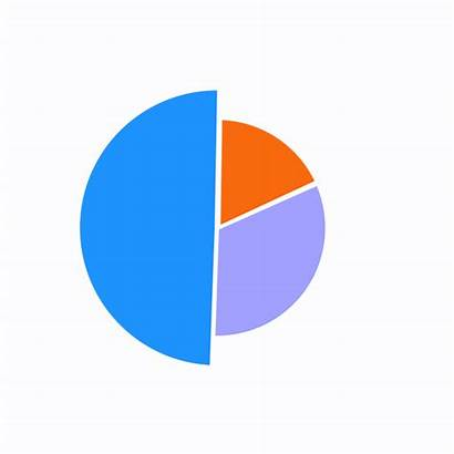 Pie Chart Invest Animated Funds