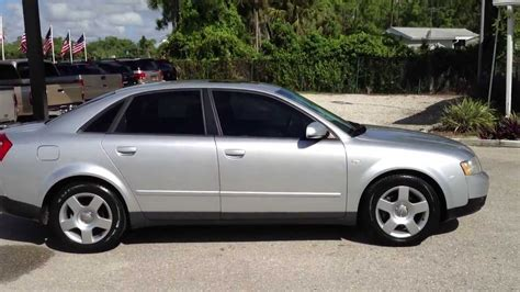 2003 Audi A4 18 Turbo  View Our Current Inventory At
