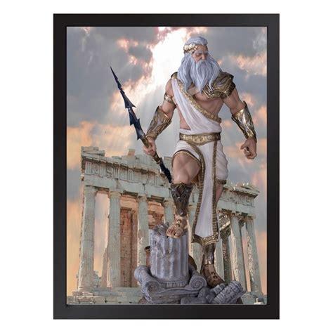 Quadro De Zeus Mitologia Grega no Elo7   Quadro Séries (14677B3)