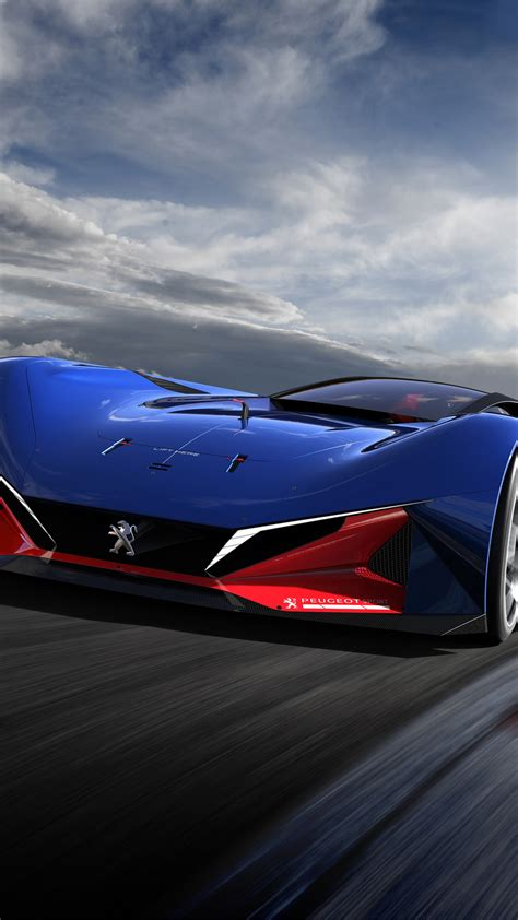 wallpaper peugeot   hybrid racing concept cars