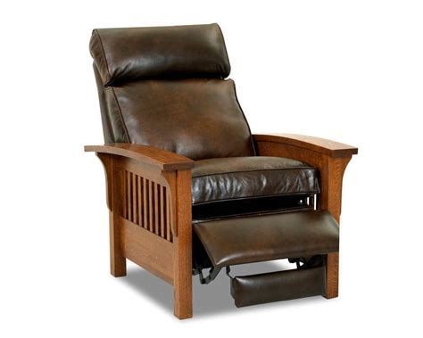 mission leather chair mission style leather recliner mission leather recliner