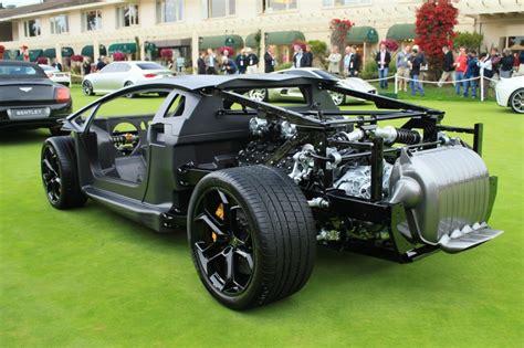 Lamborghini Aventador Rolling Chassis A Pebble Beach