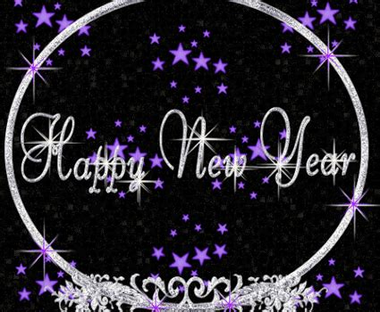 happy  year  gif glitter  whatsapp hike funnyexpo