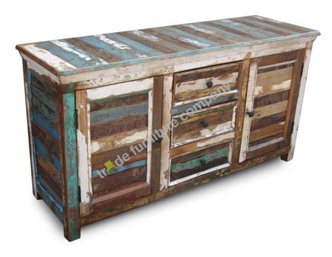 Indian Sideboard Furniture by Reclaimed Indian Furniture Sheesham Large Sideboard Ebay