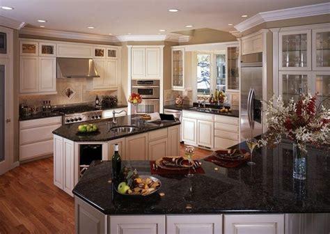 White Kitchen Cabinets With Granite Countertops Photos by White Kitchen Cabinets With Black Granite Countertops