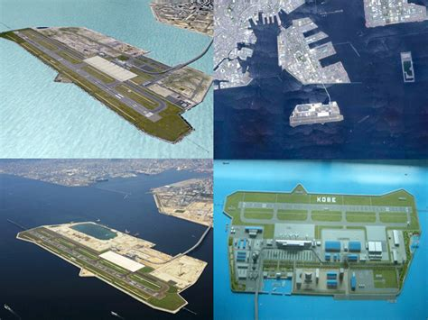 kansai airport japan sinking kansai and international airport osaka bay japan