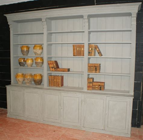 Painted Bookcases Uk by Large Painted Bookcase Antique Bookcases