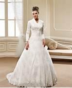 Long Sleeve Modest Wedding Dress by Modest Church Wedding Dresses With Long Sleeves