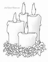 Coloring Pages Christmas Candle Bing Candles Drawing Printable Winter Printables Sheets Templates Burning Sheet Colouring Navidad Adult Patterns Adults Colorear sketch template