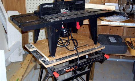 router tablebd workmate  nmkidd  lumberjockscom