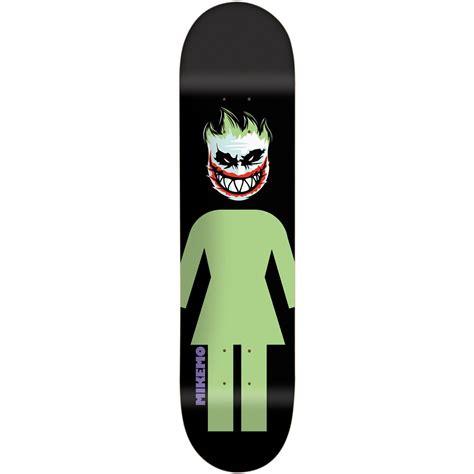 Girl Mike Mo Capaldi Joker Spitfire 80 Skateboard Deck Evo