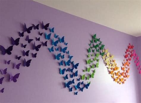paper butterfly wall decor 25 unique butterfly wall decor ideas on diy