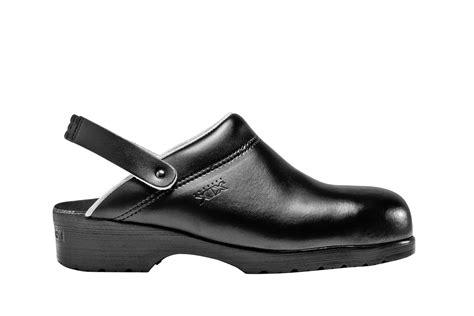 chaussures de cuisine homme sabot de cuisine clément modèle furiano noir