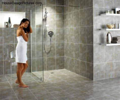 handicap restroom rails doorless shower design ideas housedesignpictures com