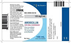 Amoxicillin Oral Suspension 125mg/5mL (100 ml)  Bacterial Infections Amoxicillin Oral Suspension