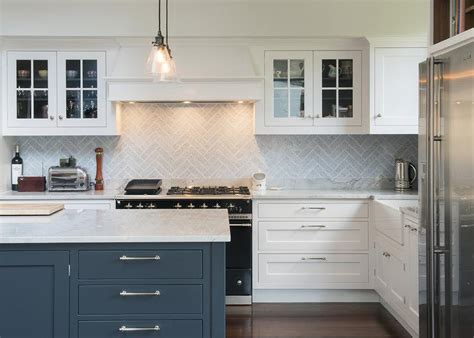 herringbone backsplash kitchen gray herringbone kitchen backsplash tiles transitional 1606