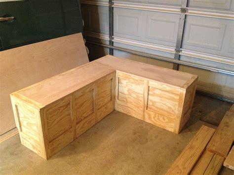 custom corner bench toy box   home