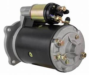 New Starter Motor Fits Ford Tractor 3930 4000 4100 4110