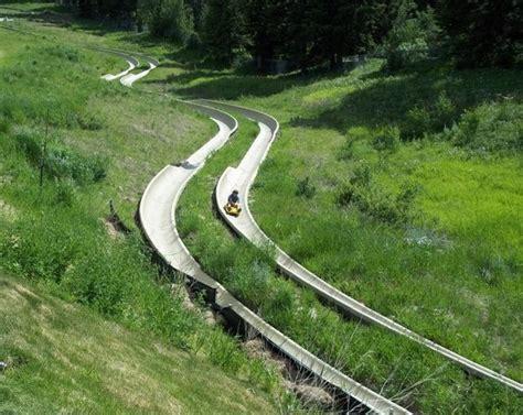 Alpine Slide Vermont Alpine Slide Places To See Oh
