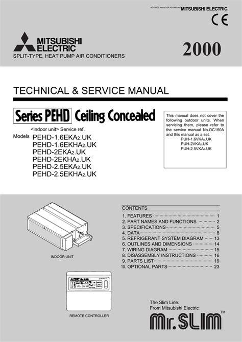 Mitsubishi Manual by Mitsubishi Mr Slim Peh Eak Service Manual Manualzz