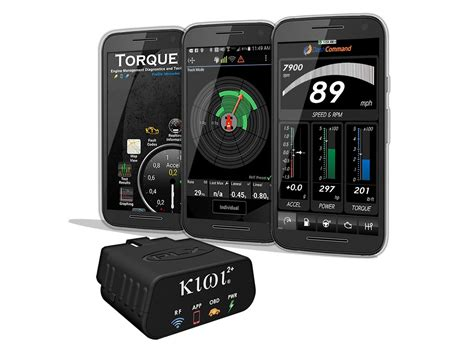 Obd In Car by Kiwi 2 Obd2 Obdii Wireless Bluetooth Diagnostic Scanner