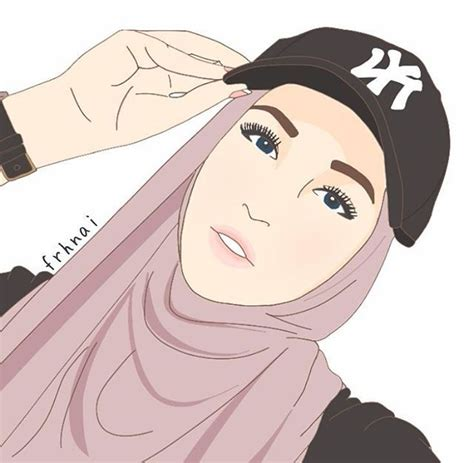 hejab drawing images  pinterest drawings