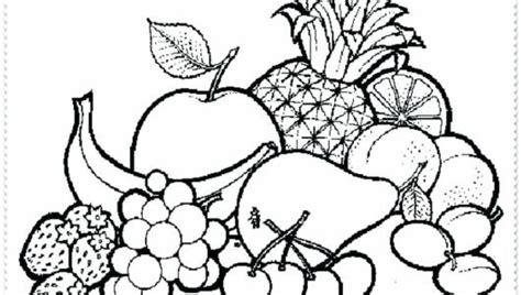 Desenhos de Frutas para Colorir: Fotos Prontas para Imprimir