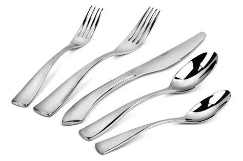 oneida curva stainless steel flatware set  piece cutlery
