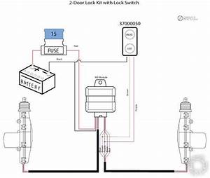 2 Actuators  1 Switch  2 Relays Or 4 Relays