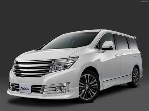 Nissan Elgrand Backgrounds by Autech Nissan Elgrand Rider High Performance Spec E52
