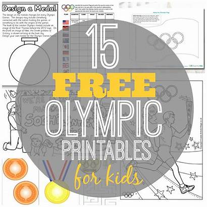 Olympic Olympics Printables Worksheets Printable Activities Winter