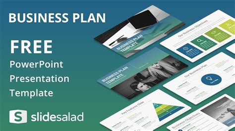 Free Template For by Business Plan Free Powerpoint Template Design Slidesalad