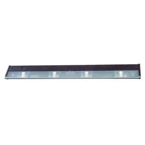 home depot under cabinet lighting acclaim lighting 4 light 32 in bronze xenon under cabinet