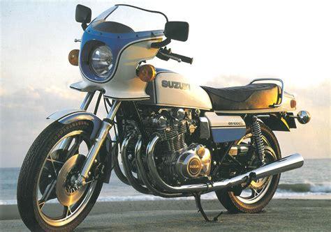 Suzuki Motorcycles Parts suzuki gs1000 added to vintage parts programme