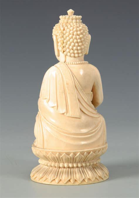 lot  antique ivory buddha