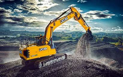 Jcb Excavator Construction Machinery 220x Lc Wallpapers
